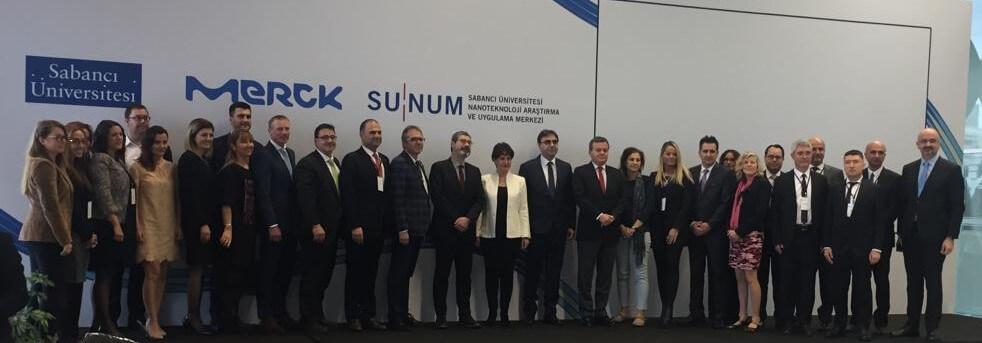 SUNUM-Merck Yaşam Bilimleri Birimi Açıldı